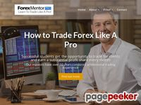 Learn Trade Forex Methods with Forex Mentor PRO