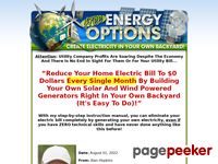 Free Energy Options :: Save Your Hard Earned Cash Now!