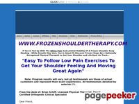 Proven treatment for frozen shoulders, shoulder pain & stiffness - FROZENSHOULDERTHERAPY.COM
