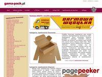 Gama-Pack Opakowania tekturowe - pudełka - kartony