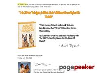 German Shepherd Handbook - German Shepherd Training Tips