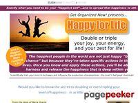 Happy for Life Program