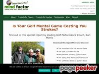 Free Golf Tips Videos From G.Mac's Mind Coach
