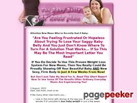 Lose Baby Weight - Lose Weight After Pregnancy - Lose Baby Belly