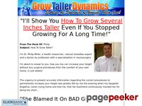 Grow Several Inches Taller – Grow Taller Dynamics
