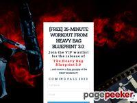 The Heavy Bag Blueprint — By Muay Thai Guy