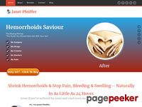 Shrink Hemorrhoids & Stop Pain Bledding – Hemorrhoids-Saviour