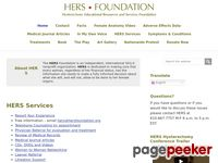 HERS Foundation: Hysterectomy, Hysterectomy Alternatives, Hysterectomy Consequences