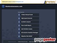:: How To Raise Swans :: Beginner's Guide To Raising Swans :: Home Page