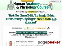 The #1 Human Anatomy and Physiology Course - Learn About The Human Body With Illustrations and Pictures