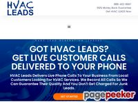HVAC Leads | HVAC Lead Generation | Green HVAC Leads | HVAC Contractor Leads | HVAC Sales Leads
