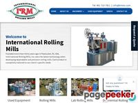 International Rolling Mills, Slitting Equipment, Lab Rolling Mills