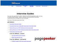 job-interview.net - Job Interview Guide, Interview Questions and Answers,   Mock Interviews