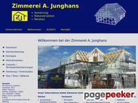 Zimmerei A. Junghans - Sanierung, Rekonstruktion, Neubau