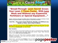 Lawn Care Magic - Grows the Perfect Lawn Fast and Without any Weeds or Pests!