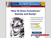 How To Draw Caricatures - Expert Video Lessons from 30 year veteran caricaturist Artist Graeme Biddle
