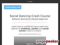 Social Dancing Crash Course - Ballroom dancing for absolute beginners