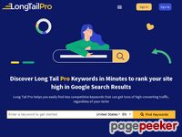 Long Tail Pro – **Keyword Research Software to Find Long Tail Keywords**