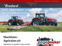 Machines agricoles H.Brodard & Fils SA - A visiter!