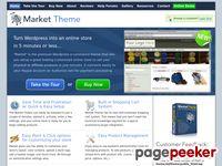 Wordpress Shopping Cart - WordPress Ecommerce - Market Theme