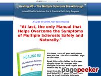 Overcome Sclerosis Safely And Naturally – Multiple-Sclerosis-Cure