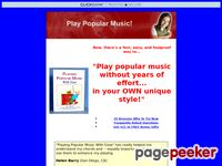 Play Popular Music, How to Play Popular Music