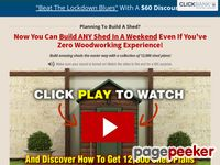 RyanShedPlans - 12,000 Shed Plans with Woodworking Designs - Shed Blueprints, Garden Outdoor Sheds