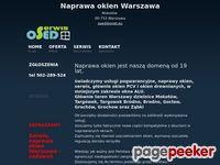 Naprawa okien Warszawa