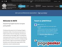 NATE - National Association for the Teaching of English