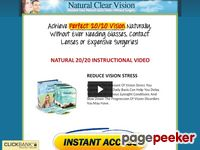 Natural Clear Vision – Restore Your Natural 20/20 Vision Without Surgery