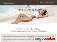 Ambe, M.D. - Cosmetic<b> Surgery</b> Center in Newport Beach, California