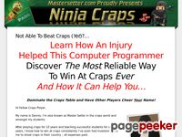 Ninja Craps – Want to beat craps?
