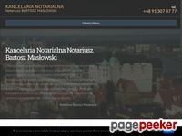 http://www.notariusz-maslowski.pl