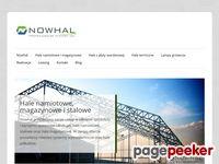 Nowhal - Hale namiotowe, hale magazynowe, Szczecin