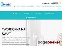 Zrzut ekranu http://www.oknadarek.pl
