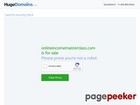 Online Income Masterclass - By James Francis
