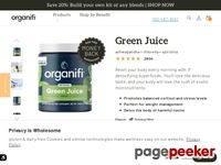 Healthy Super foods Green Juice – Organifi Green Juice