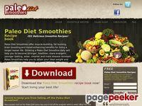 Paleo Diet Smoothies