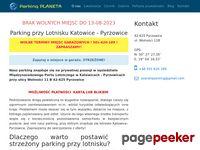 Planeta Parking przy lotnisku Katowice - Pyrzowice