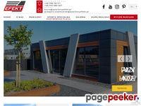 Pawilony z płyt warstwowych - Wytwórca EFEKT