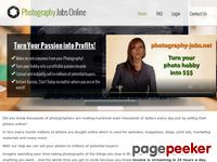 Photography Jobs – Submit Your Photos Online and Get Paid!