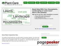 Plant-Care.com - Landscape Ideas, Design, House Plant and Lawn Care