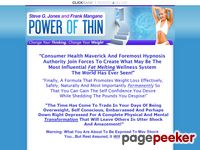 Power of Thin :: Steve G. Jones & Frank Mangano