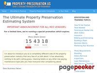 The Ultimate Property Preservation Estimating System