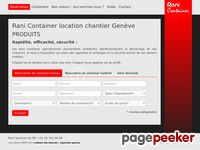 Rani Container (Genève) - A visiter!
