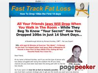 Fast Track Fat Loss - How To Drop 10 lbs In 14 Days
