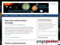 Astrolog Robert Marzewski - horoskopy profesjonalne