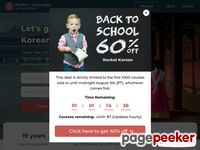 Learn Korean for free - Rocket Korean trial