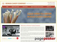 Roman Candy Company | Gourmet Taffy from the Roman Candy Company in New Orleans, Louisiana