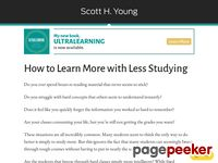 Learn More, Study Less: The Video Course